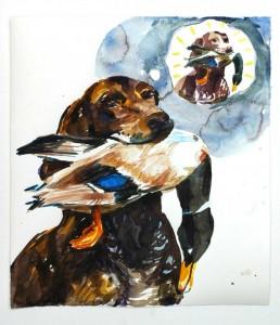 01-Hund-mit-Ente
